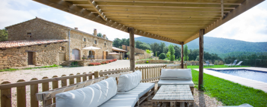 casa rural con chill out